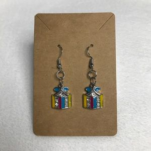 2/$15 Holiday Present Earrings